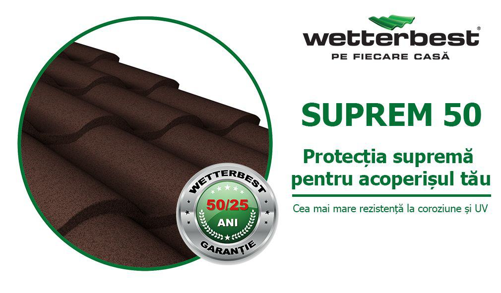 Wetterbest SUPREM50 protectie acoperis